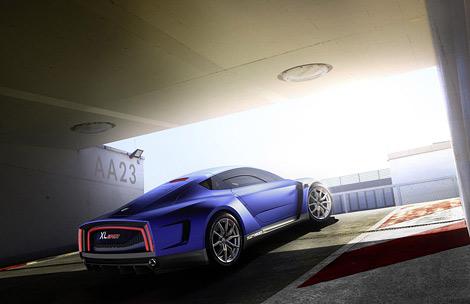 В Париже дебютировал Volkswagen XL Sport с мотором от спортбайка. Фото 1