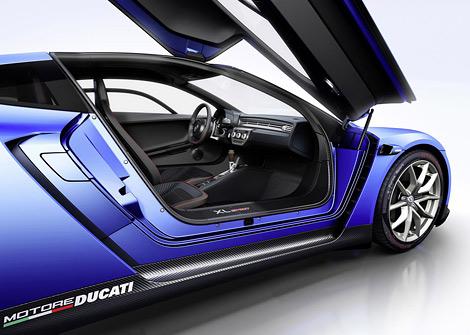 В Париже дебютировал Volkswagen XL Sport с мотором от спортбайка. Фото 2