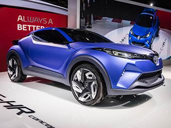 «Тойота» подготовила новое шасси для конкурента Nissan Juke