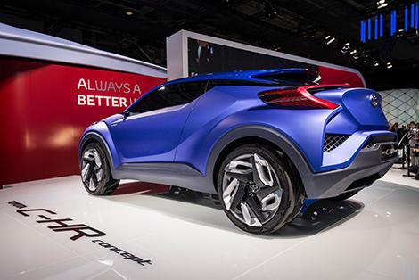 В Париже дебютировал прототип Toyota C-HR