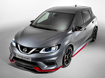 Nissan показал конкурента Renault Megane RS и VW Golf GTI