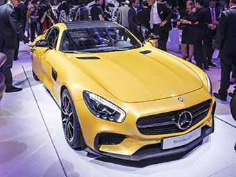"""Mercedes-Benz сделает """"черную серию"""" суперкара AMG GT"""