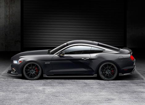 Ford Mustang подготовили для соперничества с Dodge Challenger SRT Hellcat