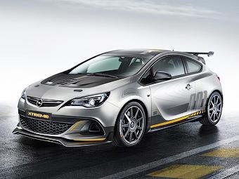 Новый Opel Astra OPC получит мотор меньшего объема