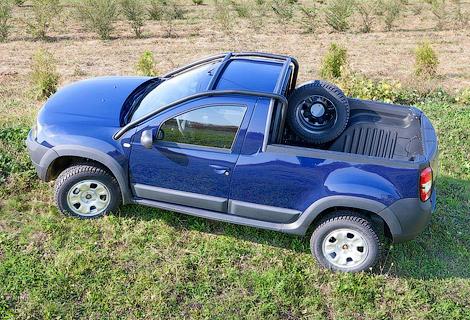 Компания Dacia выпустит пикап ограниченным тиражом