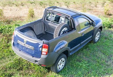 Компания Dacia выпустит пикап ограниченным тиражом. Фото 2