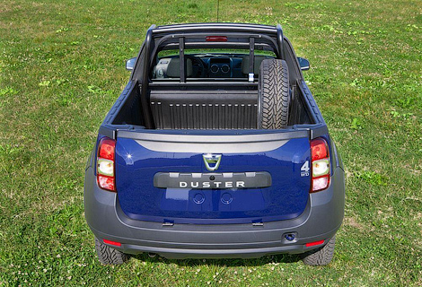 Компания Dacia выпустит пикап ограниченным тиражом. Фото 3