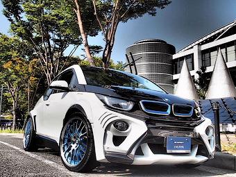 Японцы подготовили первый тюнинговый BMW i3