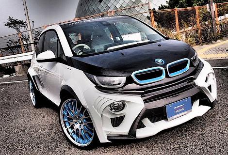 Ателье Garage Eve.ryn представило проект доработок для электрокара BMW