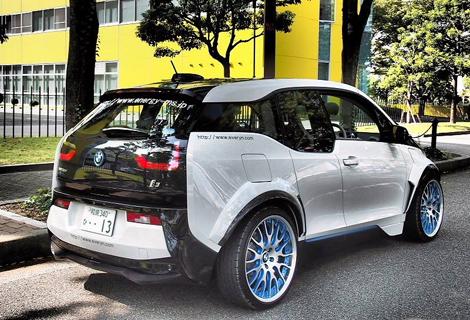 Ателье Garage Eve.ryn представило проект доработок для электрокара BMW. Фото 1
