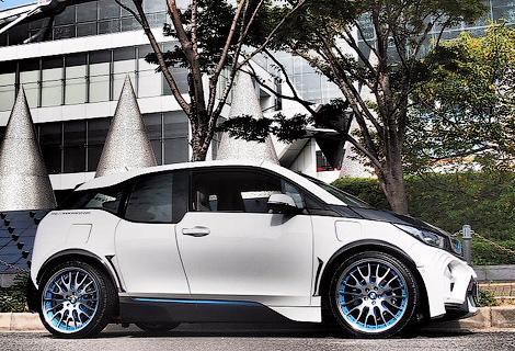 Ателье Garage Eve.ryn представило проект доработок для электрокара BMW. Фото 2