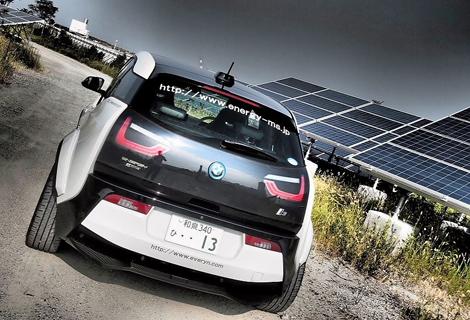 Ателье Garage Eve.ryn представило проект доработок для электрокара BMW. Фото 3