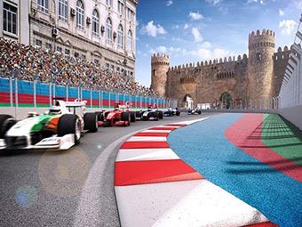 Представлен проект трассы Формулы-1 в Баку