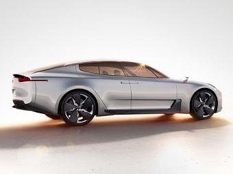 Назван год появления «четырехдверного купе» Kia