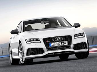 Audi RS7 проедет по гоночной трассе без водителя