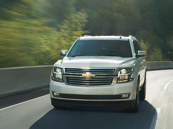 Компания Chevrolet объявила рублевые цены нового Tahoe
