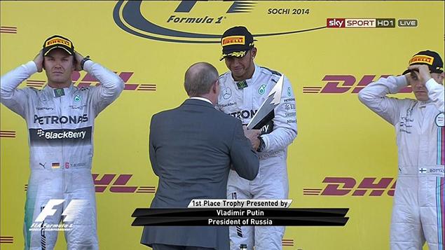 Онлайн-трансляция шестнадцатого этапа Формулы-1 2014 года