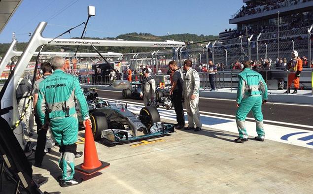 Онлайн-трансляция шестнадцатого этапа Формулы-1 2014 года. Фото 5