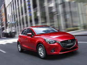 Появились подробности о европейской версии Mazda2
