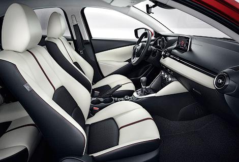 Хэтчбек Mazda2 нового поколения будет предлагаться с четырьмя моторами. Фото 2