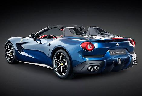 Компания построит 10 суперкаров F12berlinetta без крыши