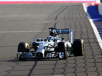 Первым победителем Гран-при России стал Льюис Хэмилтон