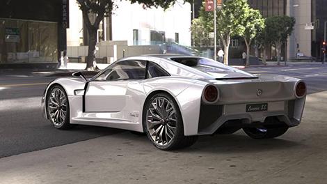 Компания Tecnicar приступил к созданию первого электрического суперкара в Италии