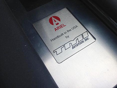 Представлена созданная с американцами спецверсия Ariel Atom 3S