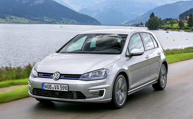 """Тест Volkswagen Golf GTE — первого """"горячего"""" хэтчбека на бензоэлектротяге. Фото 7"""