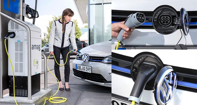 """Тест Volkswagen Golf GTE — первого """"горячего"""" хэтчбека на бензоэлектротяге. Фото 8"""
