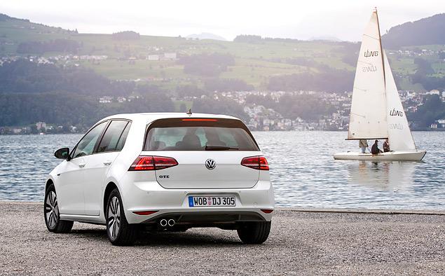 """Тест Volkswagen Golf GTE — первого """"горячего"""" хэтчбека на бензоэлектротяге. Фото 9"""