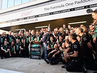 """Уборщики """"Мерседеса"""" получат по 16 тысяч долларов за победу в Формуле-1"""