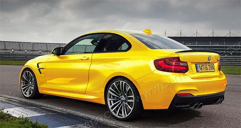 «Заряженное» купе BMW сможет набирать «сотню» за 4,2 секунды