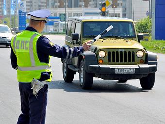 Половину российских водителей оштрафовали за превышение скорости