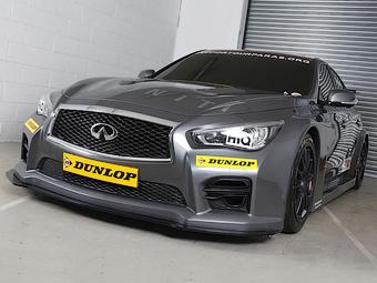 Компания Infiniti подготовила седан Q50 к гонкам