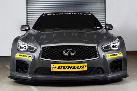 C 2015 года Infiniti примет участие в британском чемпионате по кузовным гонкам