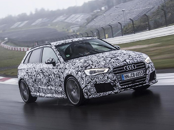 Новый хот-хэтч Audi RS3 оснастят тормозами от суперкара R8