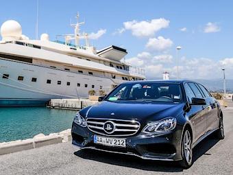 Седан Mercedes-Benz E-Class удлинили на метр