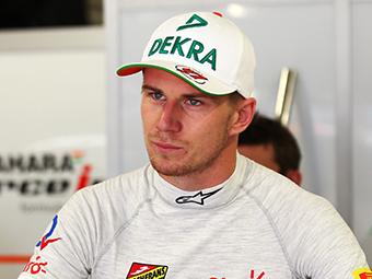 Хюлькенберг продлил контракт с Force India