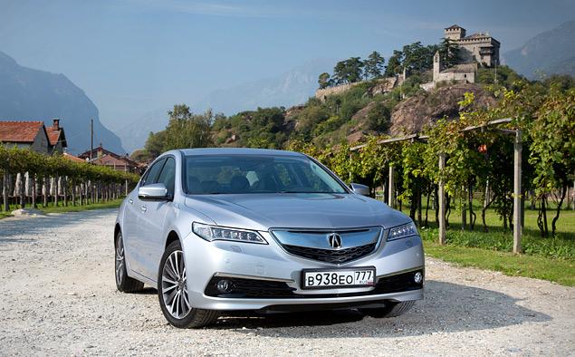 За что можно полюбить новый седан Acura TLX