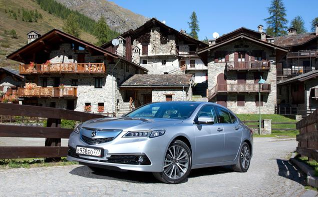 За что можно полюбить новый седан Acura TLX. Фото 1