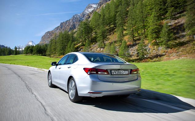 За что можно полюбить новый седан Acura TLX. Фото 3