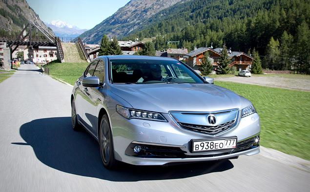 За что можно полюбить новый седан Acura TLX. Фото 4