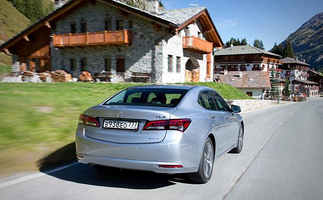 За что можно полюбить новый седан Acura TLX. Фото 5