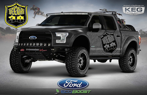 Ford привезет на SEMA два тюнингованных пикапа F-150