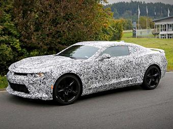 Компания Chevrolet начала испытания нового Camaro