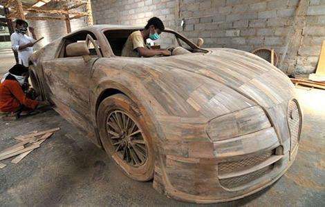 Гиперкар из дерева продадут за 2,6 тысячи евро. Фото 1