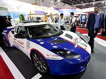 В Дубае показали быстрейшую в мире машину скорой помощи