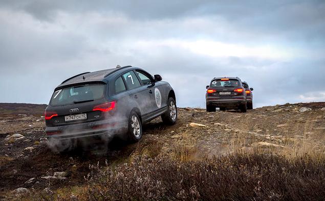 Путешествие к самой северной точке европейской части России на Audi Q7. Фото 1
