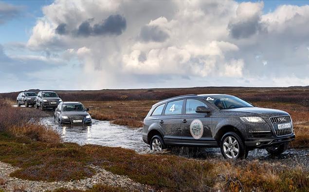 Путешествие к самой северной точке европейской части России на Audi Q7. Фото 2